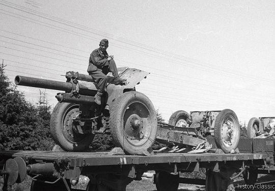 Wehrmacht Heer Schwere Feldhaubitze sFH 396 12,2 cm - Ex Sowjetische Feldhaubitze 122 mm M1938 / M-30