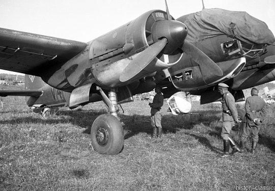 Wehrmacht Luftwaffe Junkes Ju 88
