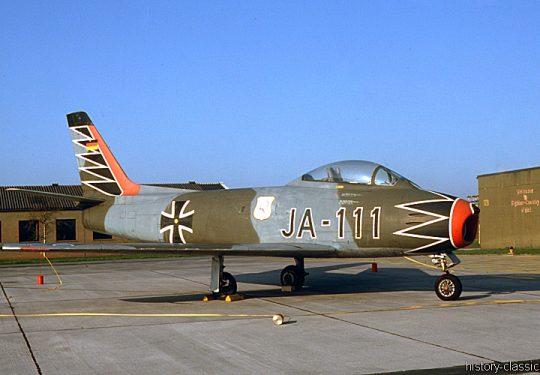 Bundeswehr Luftwaffe North American F-86 Sabre
