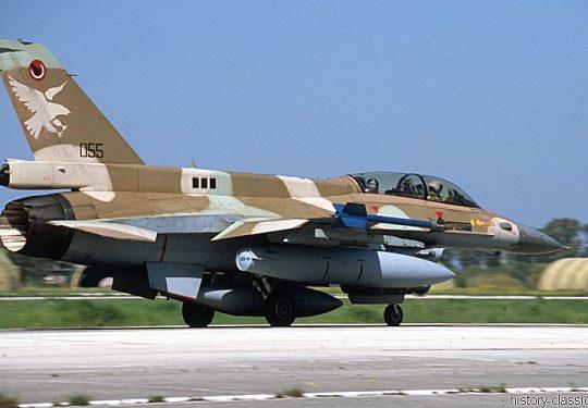 Israeli Air Force IAF Lockheed-Martin F-16D Fighting Falcon / Barak
