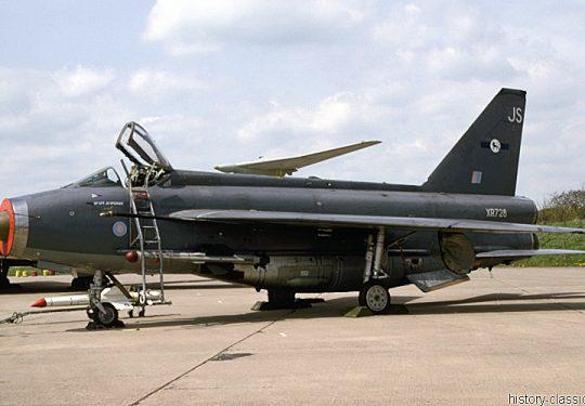 ROYAL AIR FORCE English Electric BAE Lightning