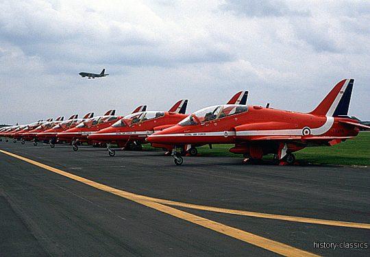 ROYAL AIR FORCE Hawker Siddeley HS 1182 / BAe Hawk - RED ARROWS