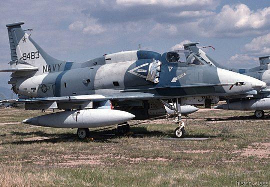 US NAVY / United States Navy Douglas A-4M Skyhawk