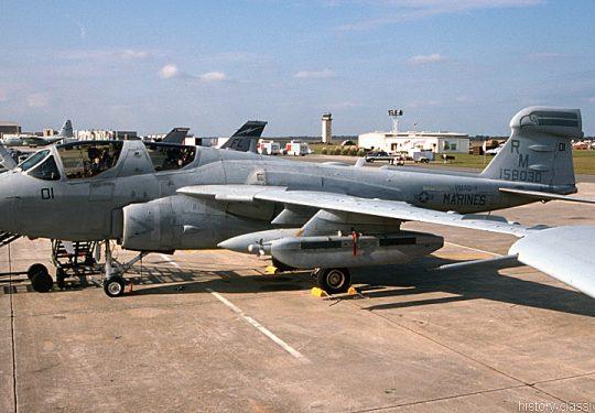 US NAVY / United States Navy Grumman EA-6 Prowler