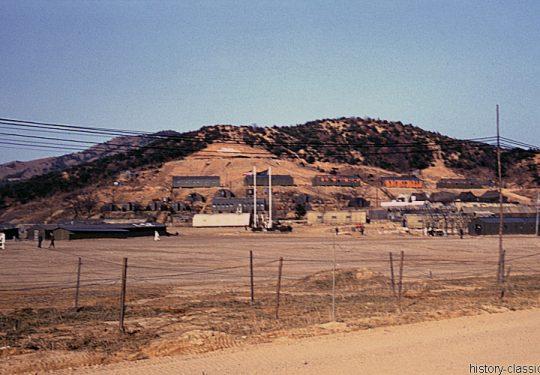 USA Korea-Krieg / Korea War - Camp