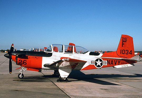 US NAVY / United States Navy Beechcraft T-34C Mentor