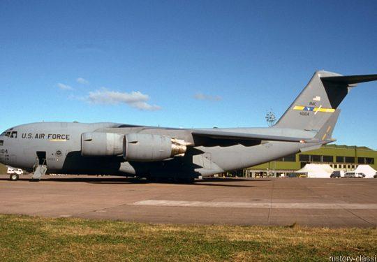 USAF United States Air Force Boeing C-17 Globemaster