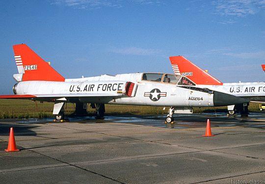 USAF United States Air Force Convair QF-106B Delta Dart