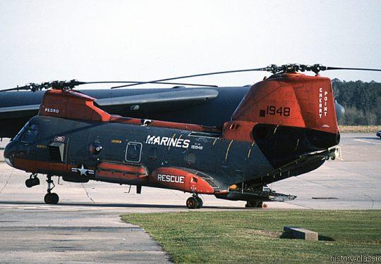 USMC United States Marine Corps Boeing-Vertol HH-46E
