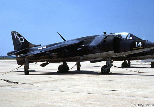 USMC United States Marine Corps Hawker Siddeley Harrier AV-8A Harrier