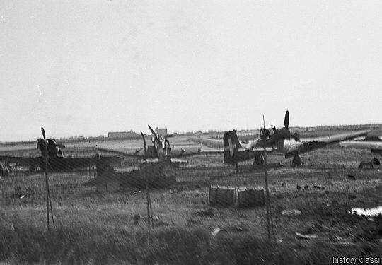 Wehrmacht Luftwaffe Sturzkampfbomber Junkes Ju87 Stuka - Italienische Luftwaffe