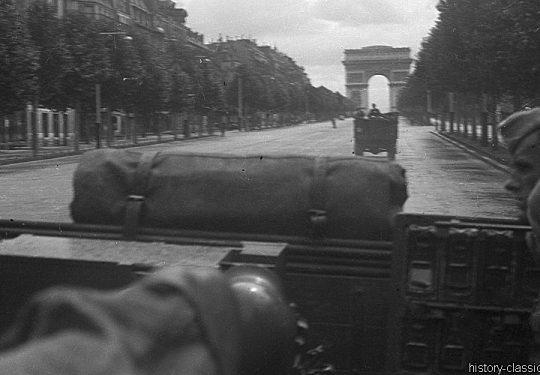 2. Weltkrieg Wehrmacht Europa – Einmarsch und Besetzung Frankreich - Paris