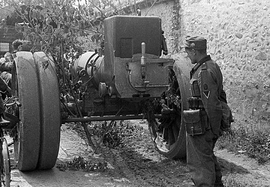 Französisches Heer / French Land Forces (Army) / Armée de terre Schwere Feldkanone Canon de 220 L Schneider modèle 1917 220 mm