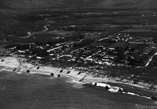 2. Weltkrieg USA Asien / Pazifik - Invasion / Landing Operation
