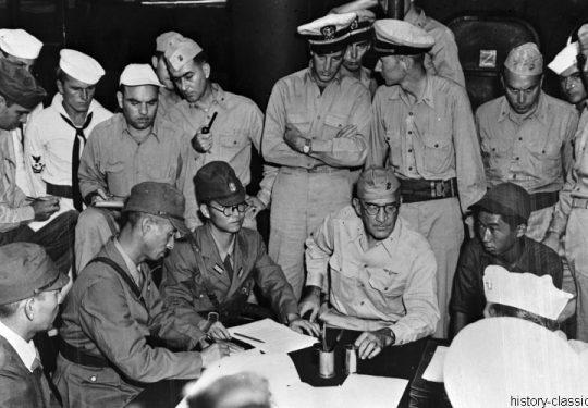 2. Weltkrieg USA Asien / Pazifik - Invasion / Landing Operation - Kapitulation / Surrender