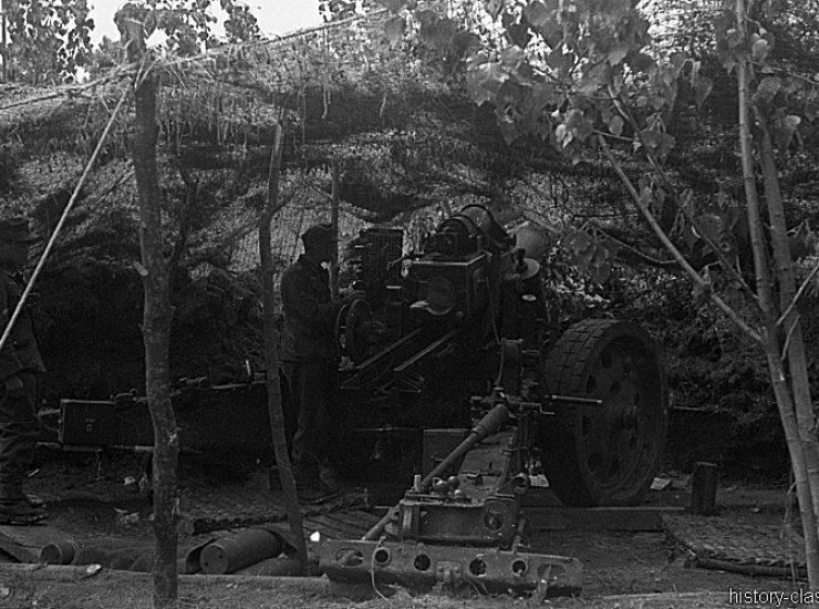 Wehrmacht Heer Schwere Feldhaubitze sFH 18 15 cm (Krupp/Rheinmetall)