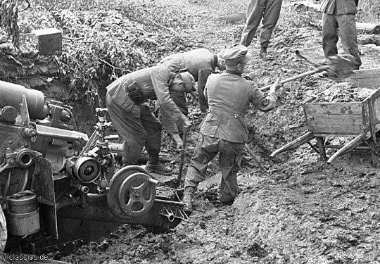 Wehrmacht Heer Schwere Feldhaubitze sFH 18 15 cm