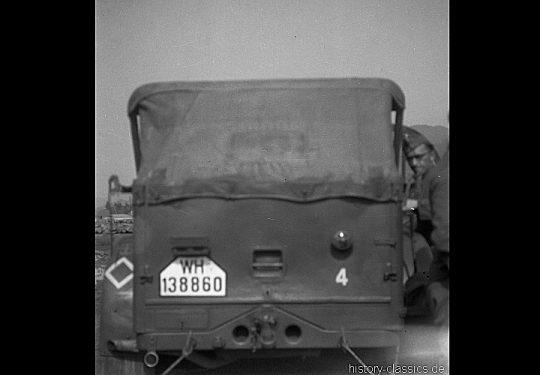 Wehrmacht Heer / Luftwaffe Geländewagen Horch 901