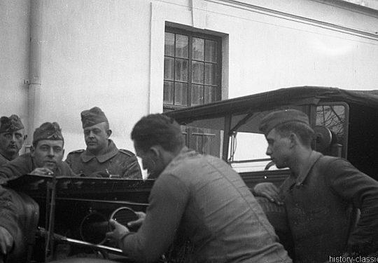 Wehrmacht Heer / Luftwaffe Geländewagen Wanderer W 11