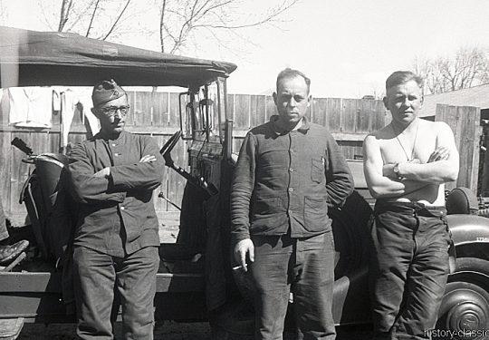 Wehrmacht Heer / Luftwaffe Geländewagen Wanderer W 50