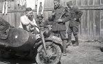 Wehrmacht Motorradgespann BMW R 75