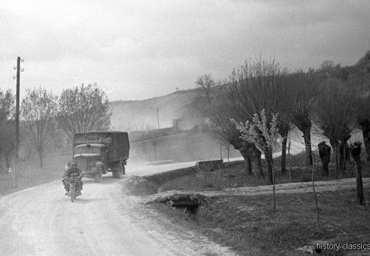 2. Weltkrieg Wehrmacht Heer Europa – Jugoslawien