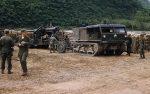 US ARMY / United States Army Schwere Feldhaubitze M59 - M1 155 mm / Heavy Howitzer M59 - M1 6.1 Inch Long Tom