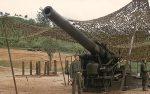 US ARMY / United States Army Schwere Feldhaubitze M1 240 mm / Heavy Howitzer M1 9.4 Inch Black Dragon - Korea-Krieg / Korean War