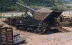 US ARMY / United States Army Selbstfahrlafette M40 155 mm / Gun Motor Carriage GMC M40 6.1 Inch