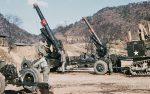 Korea-Krieg / Korean War - Schwere Feldhaubitze M115 203 mm / Heavy Howitzer M115 8 Inch