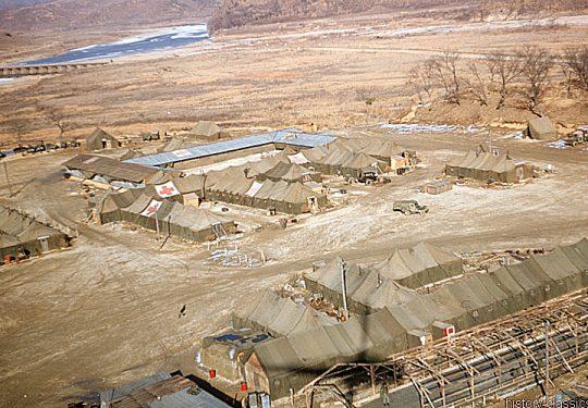 USA Korea-Krieg / Korean War - Mobile Army Surgical Hospital - MASH Unit 8055th