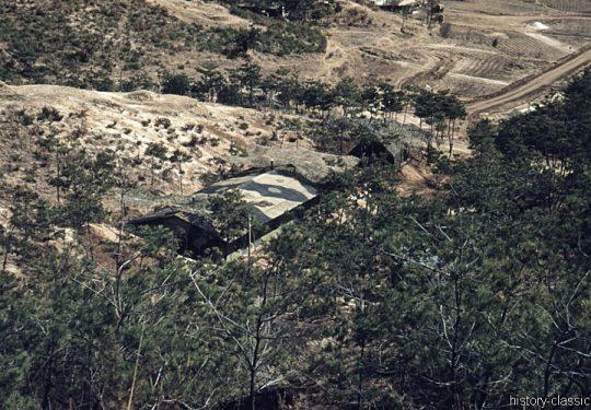 USA Korea-Krieg / Korea War - Bunker