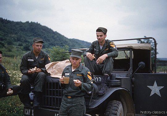 USA Korea-Krieg / Korea War 1. US-Kavalleriedivision / 1st Cavalry Division