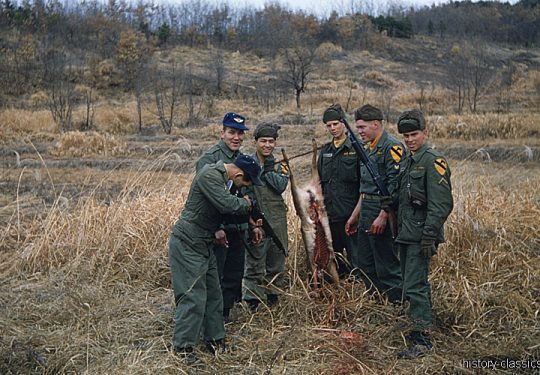 USA Korea-Krieg / Korea War - 1. US-Kavalleriedivision / 1st Cavalry Division