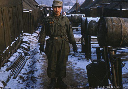 Korea-Krieg / Korean War 17th Field Artillery Regiment
