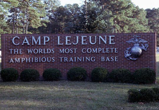 USMC United States Marine Corps - Camp Lejeune North Carolina