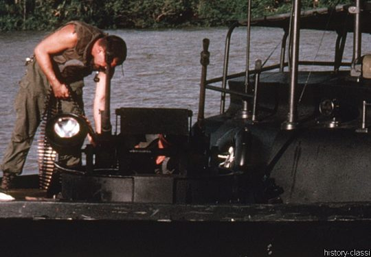 USA Vietnam-Krieg / Vietnam War - PBR Patrol Boat Riverine / River - Mark II / Mk II