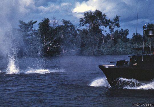 USA Vietnam-Krieg / Vietnam War - PBR Patrol Boat Riverine / River - Mark II / Mk II - MEKONG DELTA