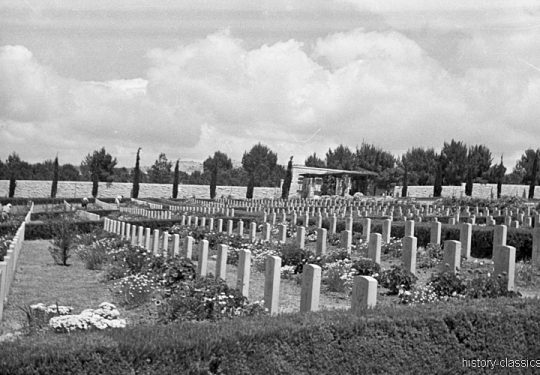 Völkerbundsmandat für Palästina - Palestine under the British Mandate / Mandatory Palestine - Kriesgräber / Gravesyard