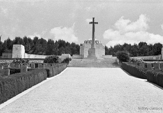 Großbritannien Kriegsgräber / Graveyard -  Völkerbundsmandat für Palästina – Palestine under the British Mandate / Mandatory Palestine