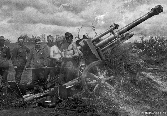 Wehrmacht Heer Leichte Feldhaubitze leFH 18/40 10,5 cm
