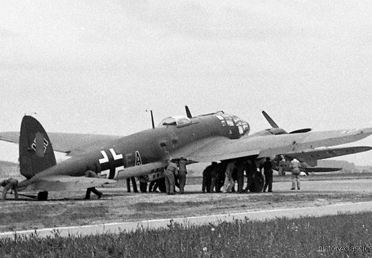 Wehrmacht Luftwaffe Heinkel He 111 H