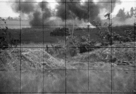 Wehrmacht Heer Scherenfernrohr SF 14 Z - Panzerangriff in der Sowjetunion der Roten Armee