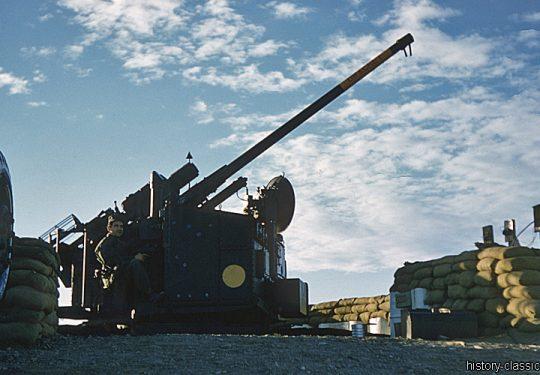 Flugabwehrkanone USA M51 Skysweeper 75 mm / Automatic Anti Aircraft Gun 3.0 Inch