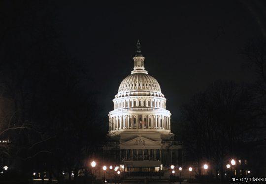 Kapitol Rückseite 60er / Capitol Backside 1960s - Washington, D.C.