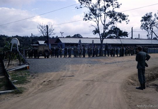 USA Vietnam-Krieg / Vietnam War - 1. US-Kavalleriedivision / 1st Cavalry Division - CAMP RADCLIFF