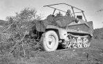 Wehrmacht Heer / Luftwaffe Halbkettenfahrzeug Schützenpanzerwagen / Funksprechwagen Sd.Kfz. 250/3