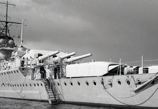 Wehrmacht Kriegsmarine Panzerschiff Admiral Graf Spee
