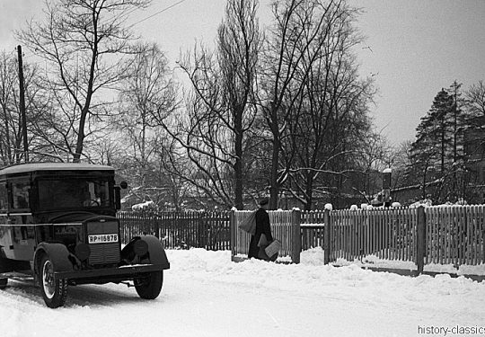 Deutsche Reichspost Phaenomen Granit Landpostwagen 1940