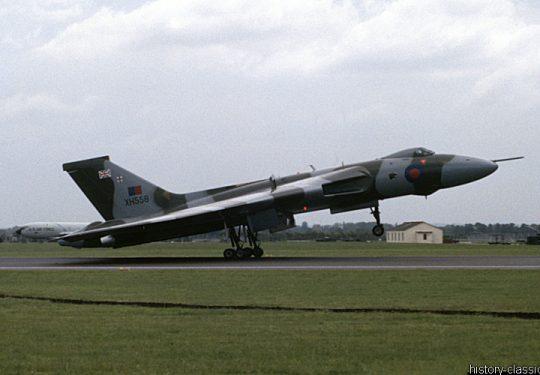 ROYAL AIR FORCE Avro Vulcan
